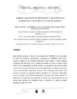 """CENIRAM: um Centro de Informação e Referência e Alimentação e Nutriçao """"Dr. Dutra de Oliveira""""."""
