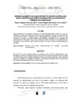 Desenvolvimento de um dispositivo microcontrolado para controle de ruído na Biblioteca do Instituto Federal do Maranhão.