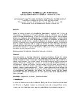 Ensinando normalização a distância: relato de uma experiência com educação a distância na UFMG.