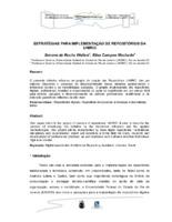 Estratégias para implementação de repositórios da UNIRIO.