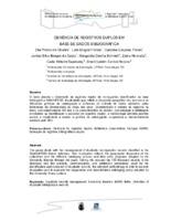 Gerência de registros duplos em base de dados bibliográfica.