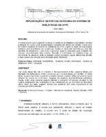 Implantação e gestão da ouvidoria do Sistema de Bibiotecas da UFPE.