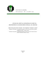 Leitura no hospital: experiência do Hospital Universitário da Universidade Estadual de Londrina