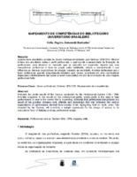Mapeamento de competências do bibliotecário universitário brasileiro.