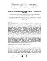 Modelo de referências para bibliotecas: a experiência do SIBI/USP.
