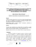 Novas ofertas de produtos aos usuários da Divisão de Biblioteca e Documentação da ESALQ/USP: a contribuição do sistema de gestão para identificação das necessidades e oportunidades.