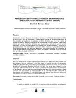 Periódicos científicos eletrônicos em Humanidades: breve análise da Revista de Letras (UNESP).