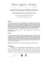 Processo de avaliação de instâncias da da Rede BVS.