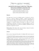 Processo de inteligência competitiva y vigilancia técnológica: experiência Biblioteca EPM;