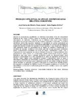 Produção intelectual da UFSCAR: discrepâncias na Biblioteca Comunitária.