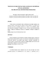 Proposta de uma política para o serviço de referência virtual assíncrono nas bibliotecas universitárias brasileiras.
