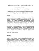 Publicação periódica e os trabalhos defendidos na FOSJC no ano de 2008.