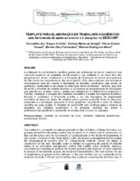 Template para elaboração de trabalhos acadêmicos: uma ferramenta de apoio ao ensino e à pesquisa na EESC/USP.