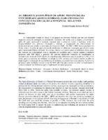 As bibliotecas dos pólos de apoio presencial da Universidade Aberta do Brasil (UAB em Goiás no contexto da educação à distância: relato de experiência. (Pôster).