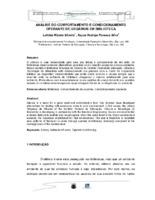 Análise do comportamento e condicionamento operante de usuários em bibliotecas. (Pôster)