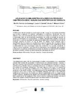 Aplicação da bibliometria no acervo da produção cientifica da EESC: análise das estatísticas de consulta. (Pôster)