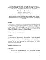 Avaliaçao e descarte na coleção de periódicos da Biblioteca Manuel Bastos Lira da Faculdade de Ciências da Saúde da Universidade Federal do Amazonas. (Pôster)