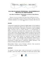 Ciclo de atualização profissional: uma experiência da Biblioteca da UNESP de Bauru. (Pôster)