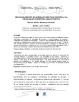Desenvolvimento de interface web para controle da circulação de material bibligráfico. (Pôster)