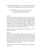 Estudo da comunidade de alunos e professores de pós-graduação do Centro Técnico Científico da PUC-Rio. (Pôster)