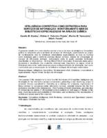 Inteligência competitiva como estratégia para serviços de informação: monitoramento web de bibliotecas especializadas na área de Química. (Pôster)