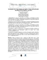 Migração do Tede modular para o Tede simplificado na Biblioteca Digital da UFLA. (Pôster)