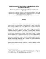 O bibliotecário de referência como mediador entre docente e discente. (Pôster)