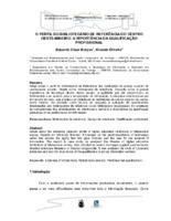 O perfil do bibliotecário de referência do centro oeste-mineiro: a importância da qualificação profissional. (Pôster)