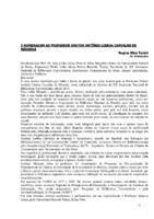 Homenagem ao Professor Doutor Antônio Lisboa Carvalho de Miranda