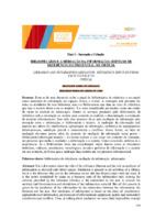 Bibliotecário e a mediação da informação: serviços de referência do presencial ao virtual.