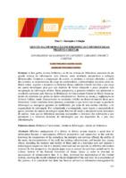 Gestão da informação em bibliotecas universitárias: projeto coletar.