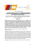 Biblioteca habitada : relato da comemoração da semana nacional do livro e da biblioteca na Universidade Federal de Goiás- Regional cidade de Goiás.
