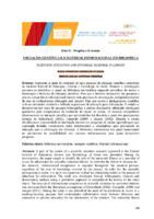 Iniciação científica e o material informacional em bibliotecas.