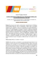 Cursos e percursos da biblioteca da Universidade Federal do Vales do Jequitinhonha e Mucuri.