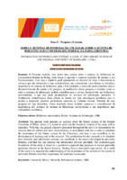 Redes e sistemas de informação: um olhar sobre o Sistema de Bibliotecas da Universidade Federal da Bahia (SIBI/UFBA).