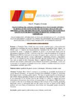 Trans-formação acesso a informação e inclusão de gênero: elaboração de um plano de negócio para criação de uma biblioteca para atender travestis, transexuais e transgêneros em situação de risco em Belo Horizonte: um relato de experiência.