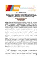 Identificação e caracterização dos visitantes no estande do Conselho Federal de Biblioteconomia no Congresso Brasileiro de Biblioteconomia e Documentação, Fortaleza, Ceará.