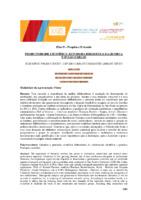 Produtividade científica: estudo da Biblioteca da Química USP/ São Carlos. (Pôster)
