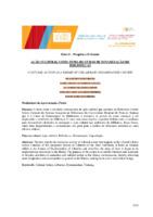 Ação cultural como tema do curso de dinamização de bibliotecas. (Pôster)