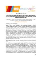 Relato de experiência do Projeto de Extensão Biblioterapia para os pacientes internados no Hospital Universitário João de Barros Barreto (HUJBB), (Pôster)