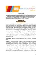A avaliação de cursos de graduação de universidades federais: um enfoque nas avaliações externas in loco do INEP (2016-2017).