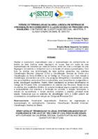 Estudo de terminologias da área jurídica em sistemas de organização do conhecimento à luz do código de processo civil brasileiro: com ênfase na classificação decimal universal e classificação decimal de direito