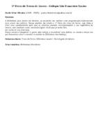 1ª Feira de Troca de Livros - Colégio São Francisco Xavier