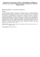 Ambiente de Informação: desafios na implantação de bibliotecas escolares em escolas estaduais de ensino fundamental e médio de Ribeirão Preto