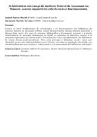 As bibliotecas dos campi do Instituto Federal do Amazonas em Manaus: marcos regulatórios estruturação e funcionamento