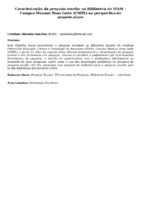 Caracterização da pesquisa escolar na Biblioteca do IFAM – Campus Manaus Zona Leste (CMZL) na perspectiva do usuário-aluno