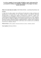 A cultura popular do município de Belém como instrumento de promoção da leitura na Biblioteca Pública Municipal Avertano Rocha (BPMAR)