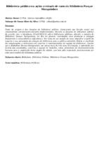 Biblioteca pública em ação: o estudo de caso da Biblioteca Parque Manguinhos