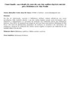 Conectando: um estudo de caso do uso das mídias digitais sociais pela Biblioteca de São Paulo