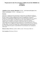 Mapeamento das ferramentas colaborativas das Bibliotecas PúblicasEstaduais